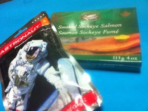 宇宙食とサーモン