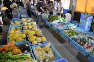 新鮮野菜市場