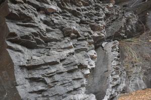 岩石の様子