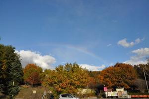 アウトレットモールの虹