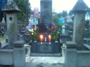 8月13日墓参り