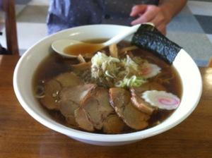 東京名物、木久蔵ラーメン