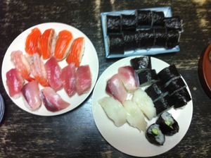 手造り寿司
