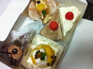 誕生日のデザート