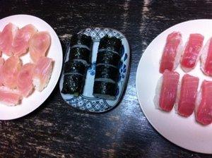 お寿司、半額