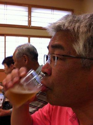 ビールもうまい!