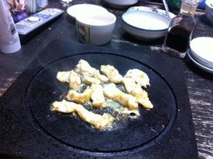 溶岩焼き肉