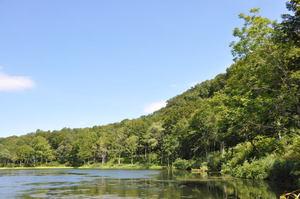 蓮華温泉の白池