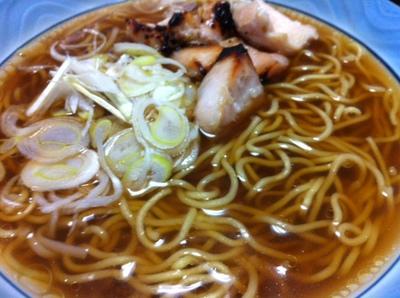 麺の力、中華そば