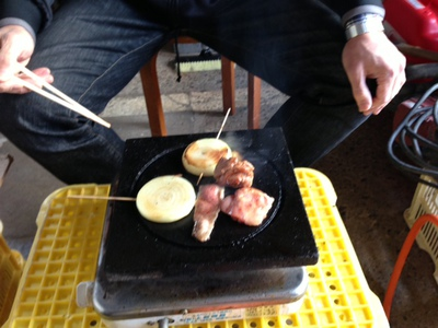 焼き鶏パーティー