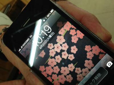 docomoのiPhone