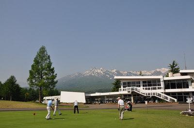 町内のゴルフコンペ
