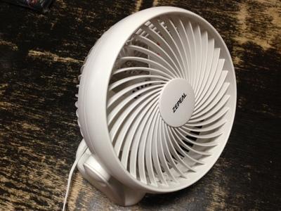 自分専用扇風機