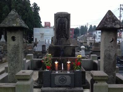 月命日のお墓参り
