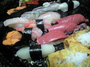 三恵さんのお寿司