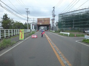 新幹線の工事