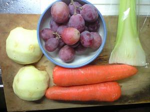 野菜ジュースの材料