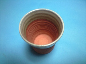 陶器製ビアグラス