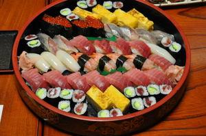 三恵のお寿司