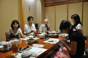 内藤家の会食