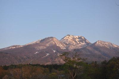 朝焼けの妙高山