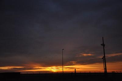 6月の夕景