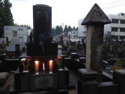 今月のお墓参り