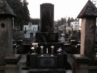 今月の墓参り