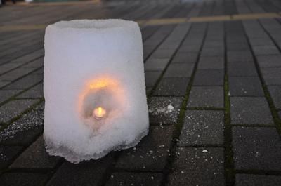 雪あんどん