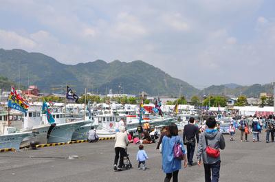 用宗漁港祭り