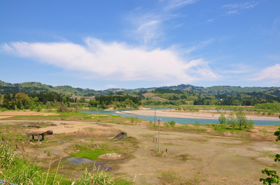 信濃川河川敷
