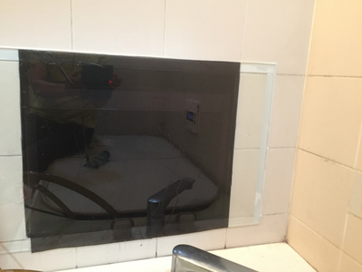 浴室テレビ