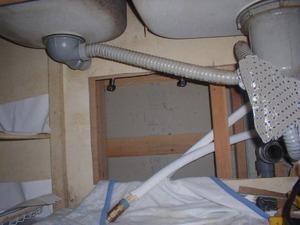 水道管の入れ替え工事