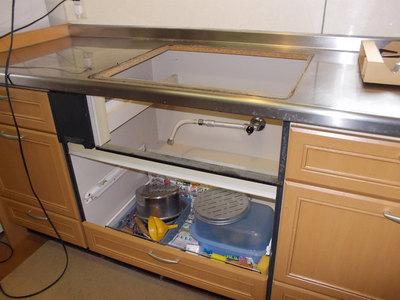 厨房機器の取り替え